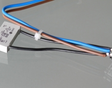 Wires assembled with clarifiers